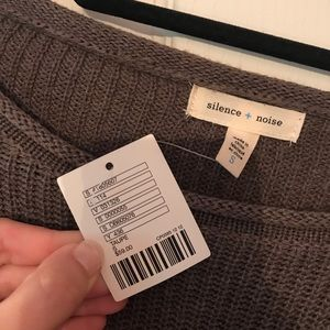 Never worn!!! Taupe sweater